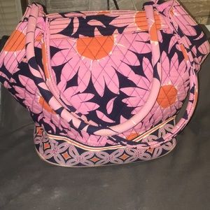 Large Vera Bradley shoulder bag